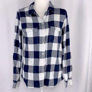 Gap Boyfriend Fit Button Up Shirt Size Small